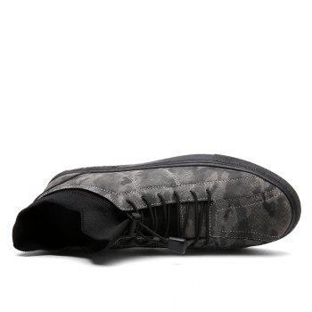 Camouflage Fashion Winter Flat Shoes - CAMOUFLAGE GRAY CAMOUFLAGE GRAY