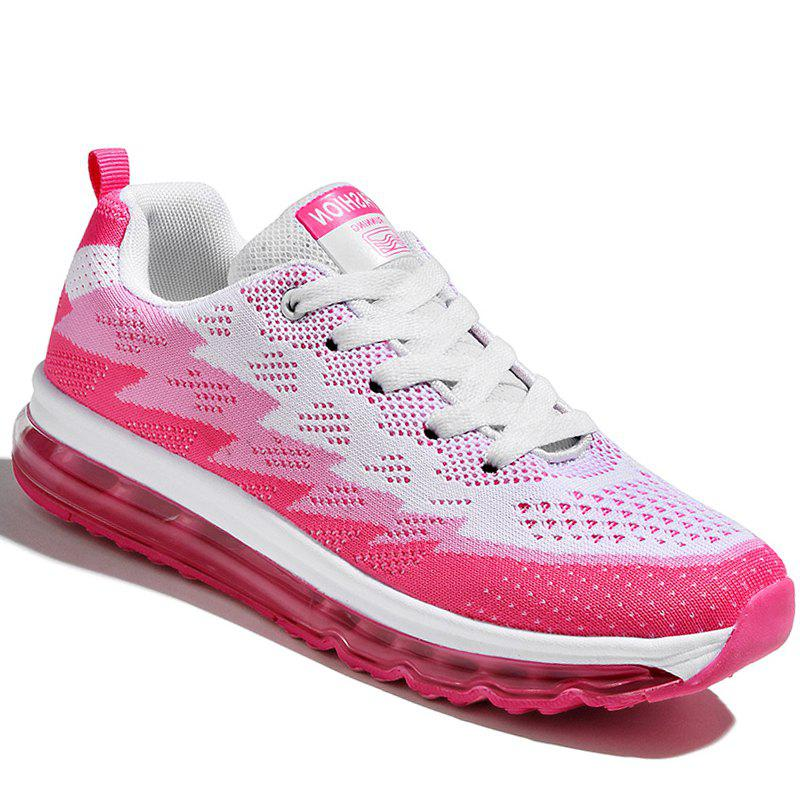Course Femmes Chaussures Sport Couple Jogging en plein air Marcher Athletic Baskets - ROSE LEGER 39