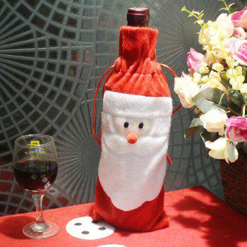 Santa Claus Bottle Decoration Bag - COLORMIX COLORMIX