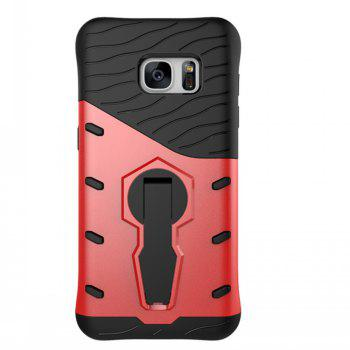 Rotary Mobile Phone Shell for Samsung S7 - RED RED