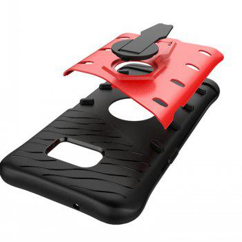 Rotary Mobile Phone Shell for Samsung S7 - RED