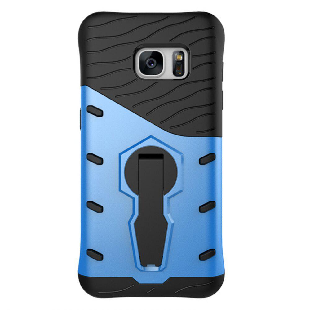 Rotary Mobile Phone Shell for Samsung S7 - BLUE