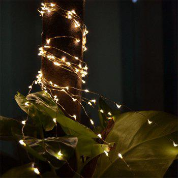 30 - LED Lights Battery Powered Copper Wire String Lights Home Decoration - WARM WHITE LIGHT WARM WHITE LIGHT