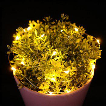 30 - LED Lights Battery Powered Copper Wire String Lights Home Decoration - WARM WHITE LIGHT