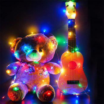 5M 50 - LED Lights Battery Powered Copper Wire String Lights Home Decoration - COLORFUL