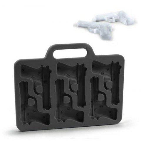 Soft Practical Ice Tray Silicone Mold - BLACK