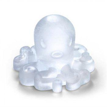 Octopus Shape Ice Tray Silicone Mold - BLUE
