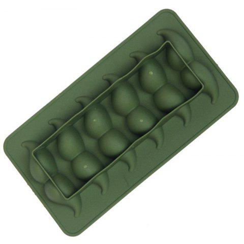 Moustache Shape Ice Tray Silicone Mold - GREEN