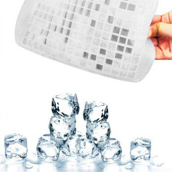 160 Small Grids Shape Ice Tray Silicone Mold - WHITE WHITE