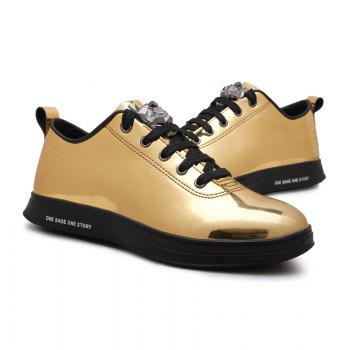 Fashion Breathable Cushion Shoes Men Sport Jogging Walking Athletic Sneakers - GOLDEN 43