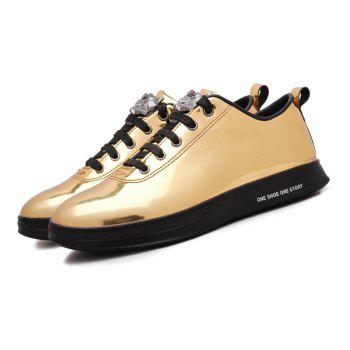 Fashion Breathable Cushion Shoes Men Sport Jogging Walking Athletic Sneakers - GOLDEN 44