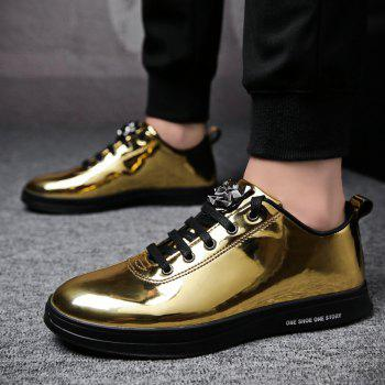 Fashion Breathable Cushion Shoes Men Sport Jogging Walking Athletic Sneakers - GOLDEN 41