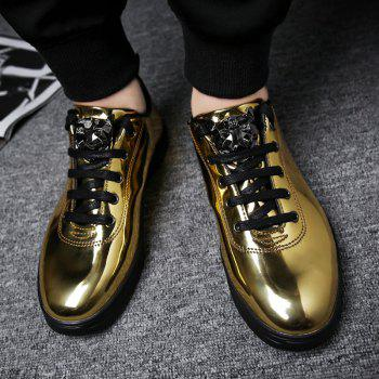 Fashion Breathable Cushion Shoes Men Sport Jogging Walking Athletic Sneakers - GOLDEN 42