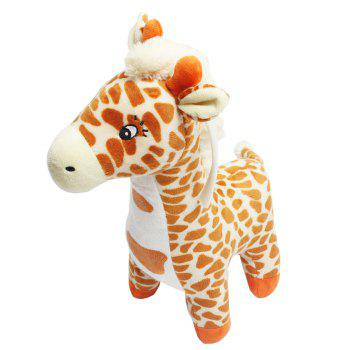 Giraffe Style Plush Toy with Music -  COLORMIX
