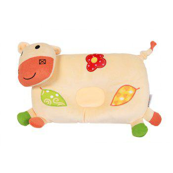 Cute Cow Shaped Baby Pillow - YELLOW YELLOW