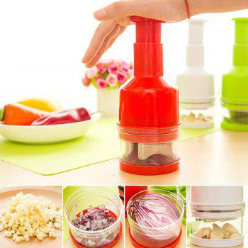 DIHE Multi-Function Convenient Minced Garlic Maker - RED RED