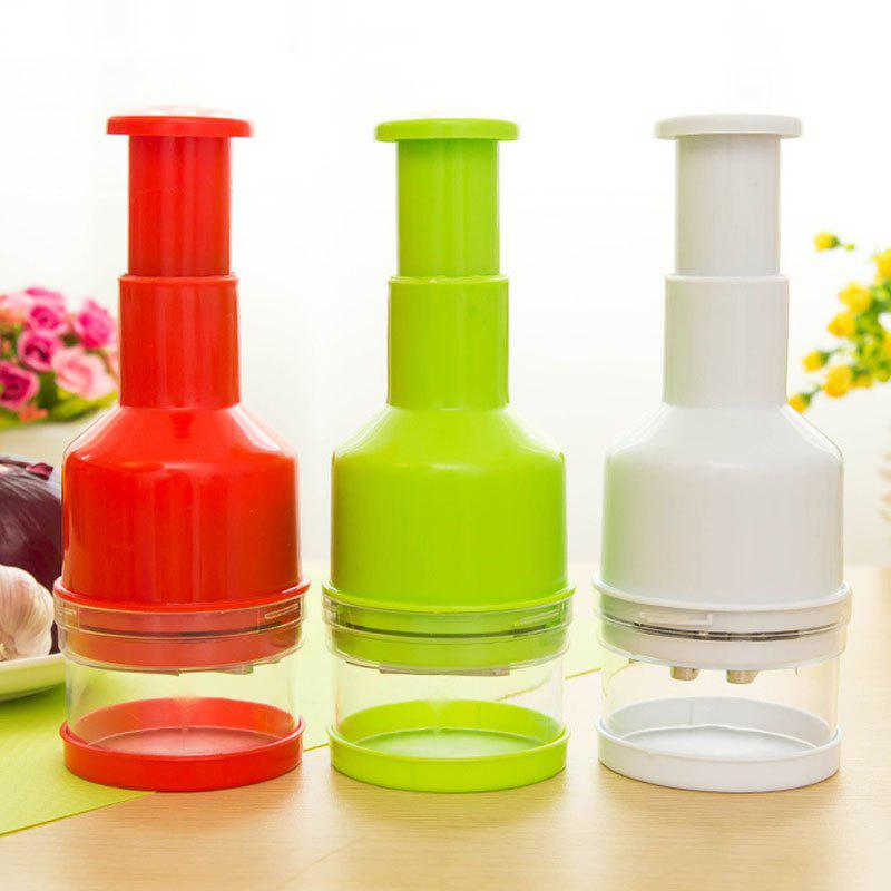 DIHE Multi-Function Convenient Minced Garlic Maker - RED