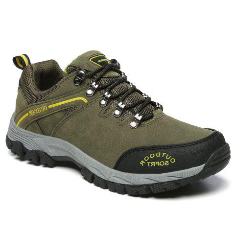 Men Big Size Fashion Outdoor Shoes - ARMYGREEN 42