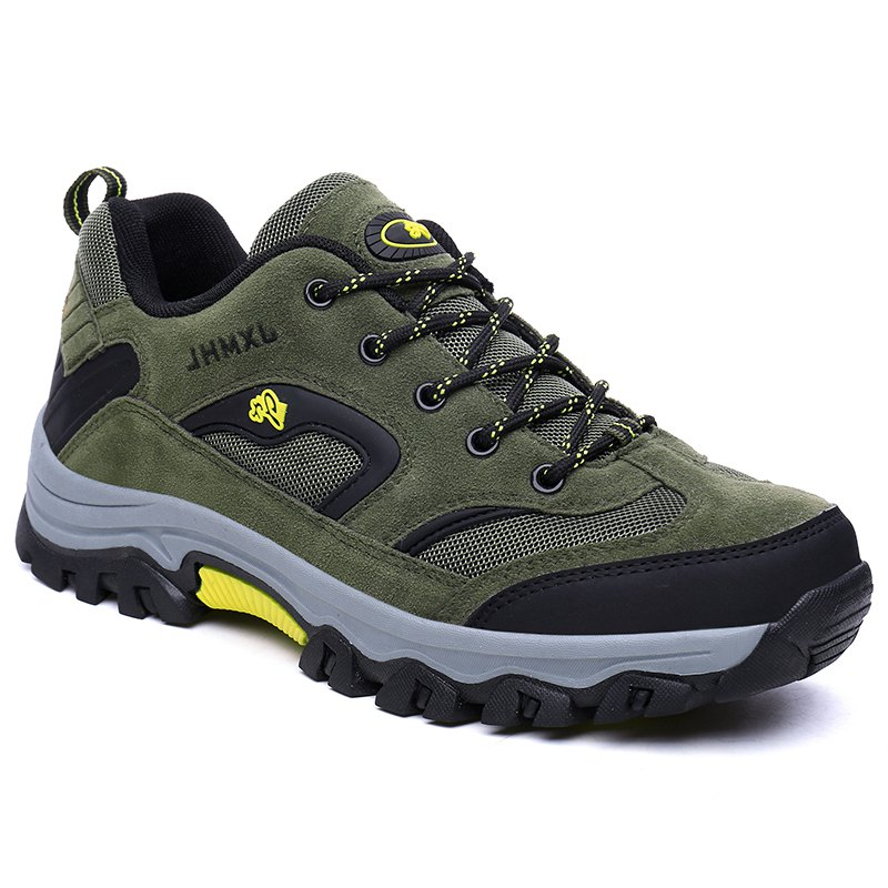 Waterproof Outdoor Low Head Wear Sports Shoes and Leisure for Collision Avoidance - ARMYGREEN 45