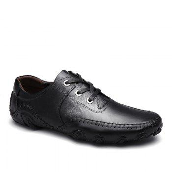 Comfortable Breathable Soft Leather Leisure Shoes