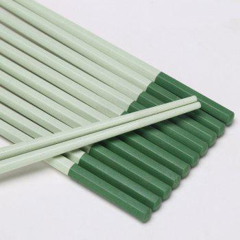 Suncha Colored Green Rice Husk Chopsticks - GREEN