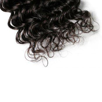 Mongolian Deep Wave Unprocessed Virgin Human Hair Weaves 10inch - 28inch 1piece /  100g - BLACK 22INCH