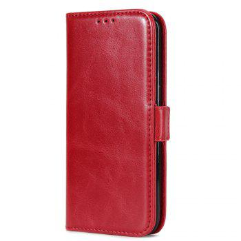 Crazy Ma  Wallet Phone Sets Stent for iPhone 7 Plus - RED RED