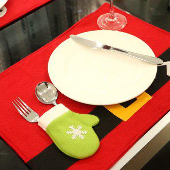 Atongm Christmas Decoration Restaurant Cloth - COLORMIX