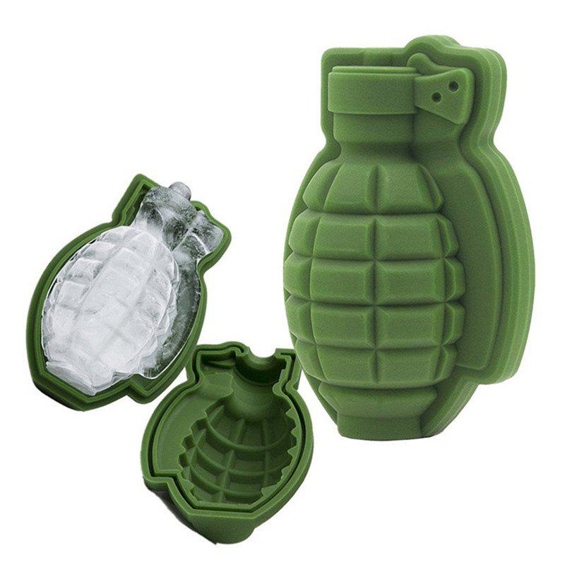Grenade Shape Ice Tray Silicone Mold