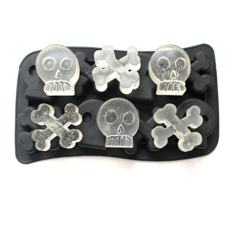 Creative Ice Tray Silicone Mold - BLACK