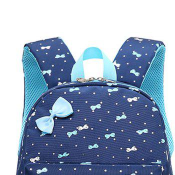 Leisure Backpack Waterproof Ultra Light Casual Bag - DEEP BLUE