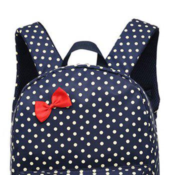 0323 Casual Fresh Backpack Summer Bag 3PCS - DEEP BLUE