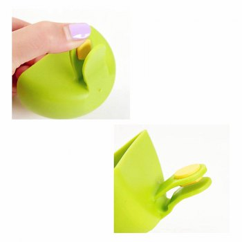 Spice Dish with Clamp 2PCS - GREEN