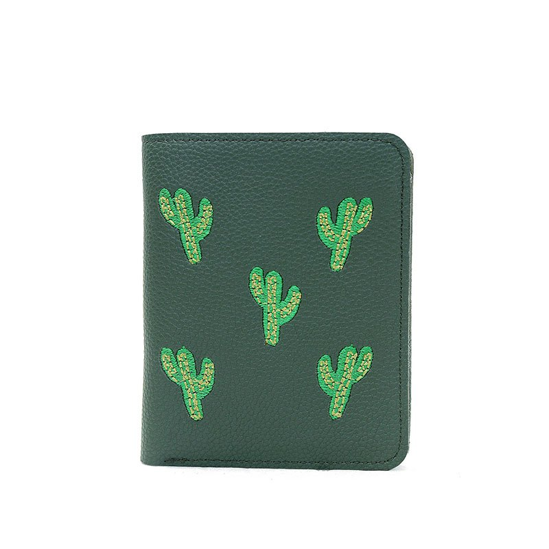 Paquet de carte de broderie de mode - GREEN