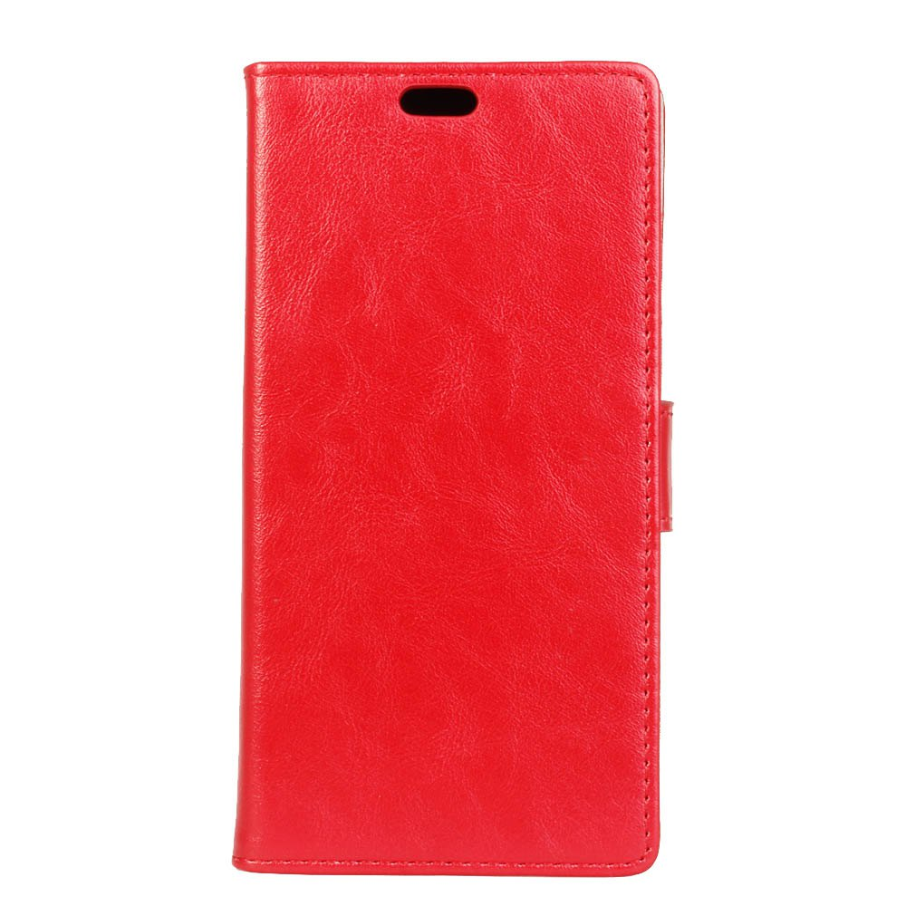 KaZiNe Luxury PU Leather Silicon Magnetic Dirt Resistant Phone Bags Cases for DOOGEE X30 - RED