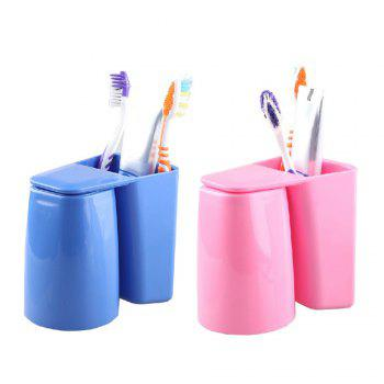 Multifunction Creative Brush Container Toothbrush Cup - PINK