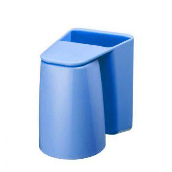 Multifunction Creative Brush Container Toothbrush Cup -  BLUE