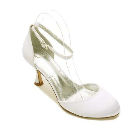 2019 Women S Wedding Shoes Comfort Spring Summer Satin Hollow Out