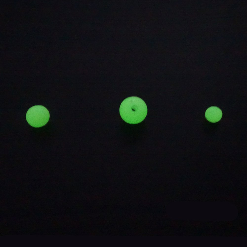 Outdoor Fishing Exclusive Fluorescent Beads 10mm / 8mm / 6mm - LIMEADE 6MM