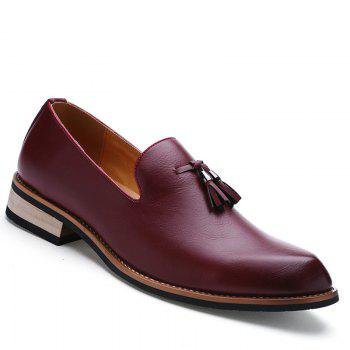 Fashion Genuine Leather Men Formal Casual Business Wedding Shoes