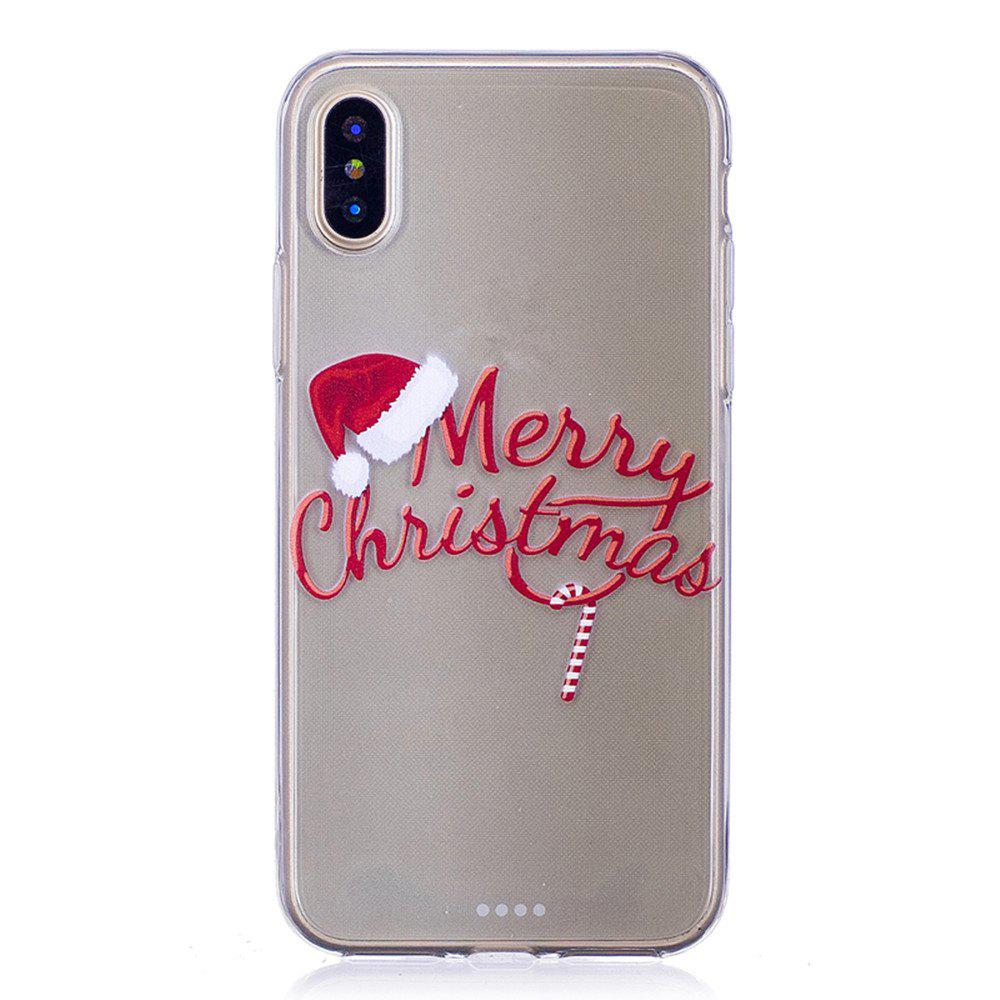 Santa Claus Christmas Deer Phone Sets for iPhone X летние шины michelin 185 65 r15 88t energy xm2