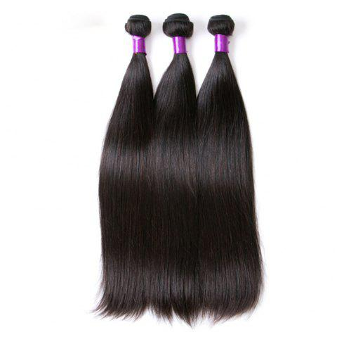 Brazilian Human Hair Remy Extension Weaving 10 - 28inch - NATURAL COLOR 22INCH