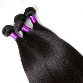 Brazilian Human Hair Remy Extension Weaving 10 - 28inch - NATURAL COLOR NATURAL COLOR