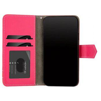 Restoring Ancient Ways PU Leather Flip Card Case For IPhone X - RED