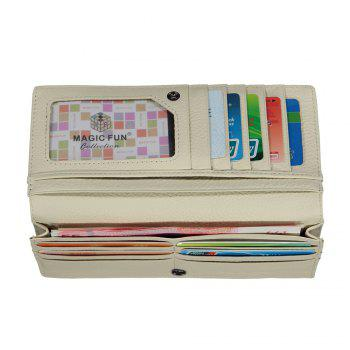 Colorful Personality and Simple Cartoon Pattern Leather Wallet -  ROYAL