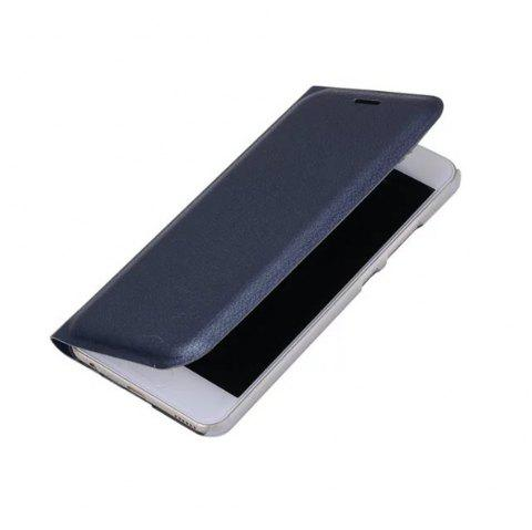 Case PU Leather Card Slot Protection Stand Mobile Phone Cover Case for Huawei P10 Lite Shells Capas - BLUE