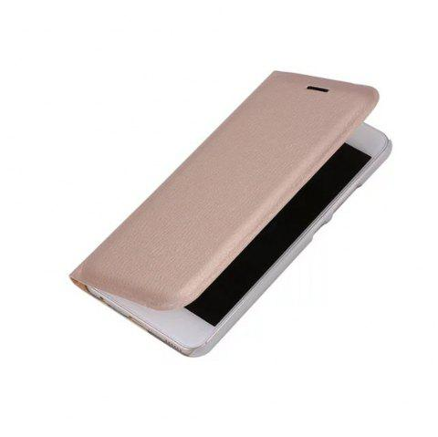 Case PU Leather Card Slot Protection Stand Mobile Phone Cover Case for Huawei P10 Lite Shells Capas - GOLDEN