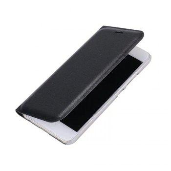 Case PU Leather Card Slot Protection Stand Mobile Phone Cover Case for Huawei P10 Lite Shells Capas - BLACK BLACK