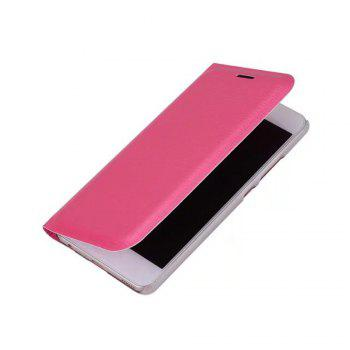 Case PU Leather Card Slot Protection Stand Mobile Phone Cover Case for Huawei P10 Lite Shells Capas - ROSE RED ROSE RED