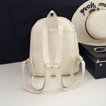New Design Shoulder Bag Fashion All Match Casual Backpack Women - BEIGE
